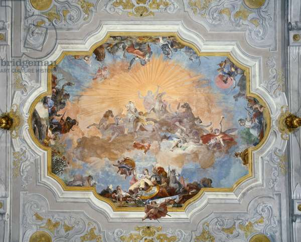 Apollo and Allegories of the Four Corners of the World (fresco)