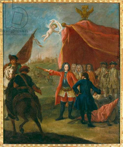 Portrait of Eugene of Savoy (oil on canvas)