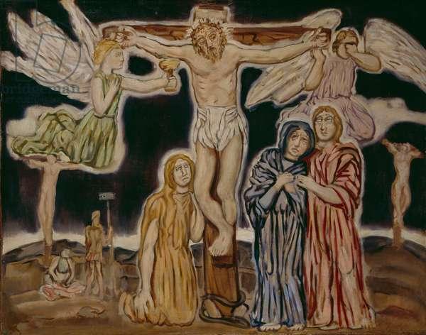 Calvary, crucifixion, 1931 (oil on canvas)