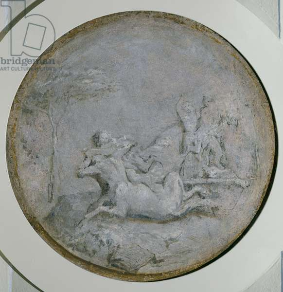 Scene with centaurs and female satyrs
