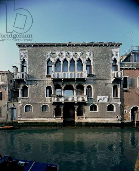 Palazzo Mastelli (Cammello) on Rio della Madonna dell' Orto (photo)