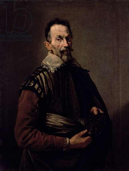 Portrait of Claudio Monteverdi (1567-1643) (oil on canvas)