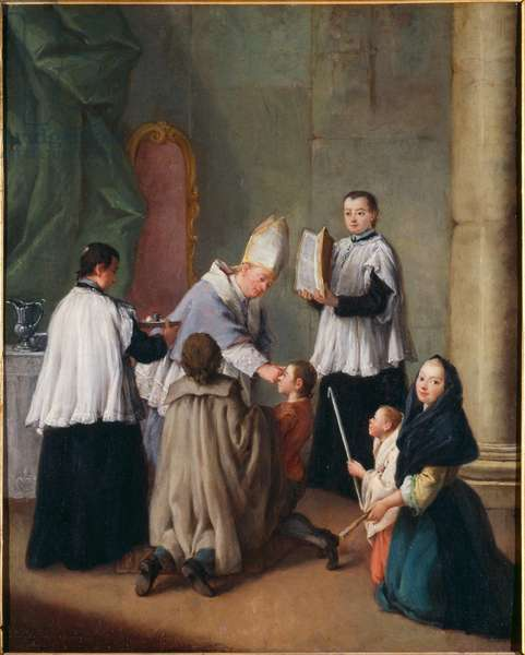 Confirmation (oil on canvas)
