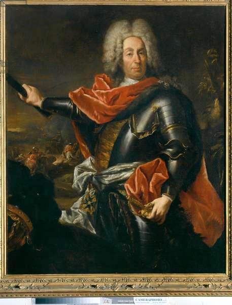 Portrait of Mathias Von der Schulenburg, 1741 (oil on canvas)