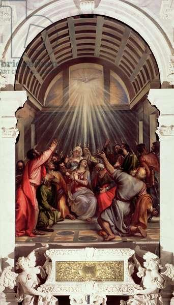 Pentecost (oil on canvas)