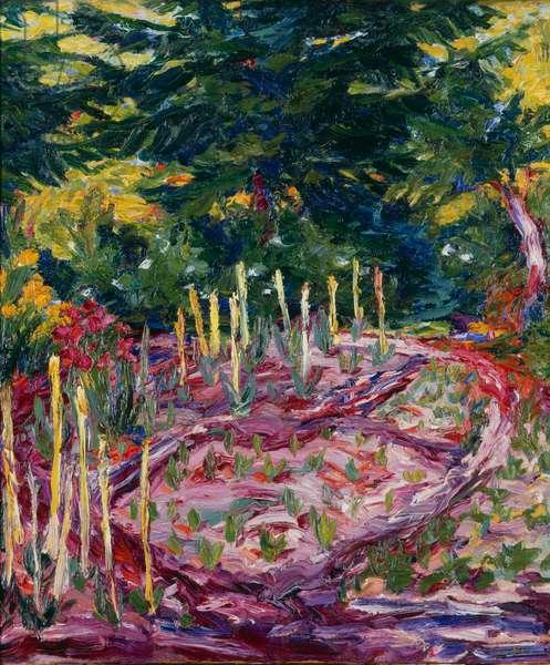 Flowers, 1909 (oil on canvas)