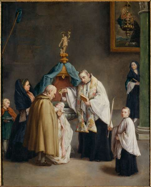 Baptism (oil on canvas)