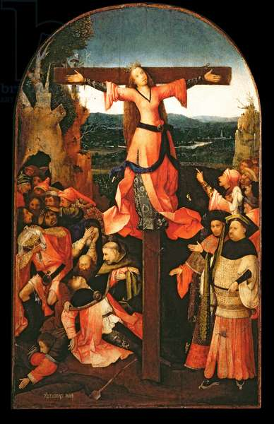 St. Liberata Triptych, central panel (oil on panel)