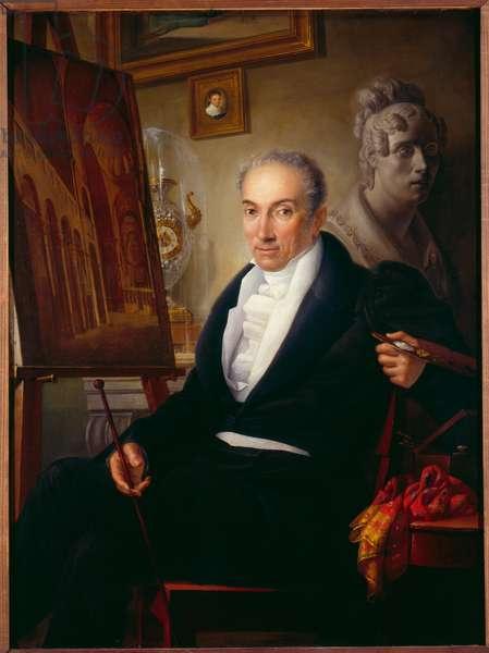 portrait of Giuseppe Borsato (oil on canvas)