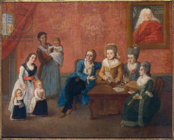 Michiel Family (oil on canvas)