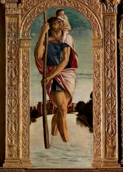Polyptych of St. Vincent Ferreri: St. Christopher