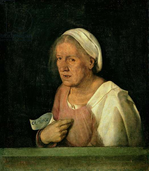 La Vecchia (The Old Woman) after 1505 (oil on canvas)