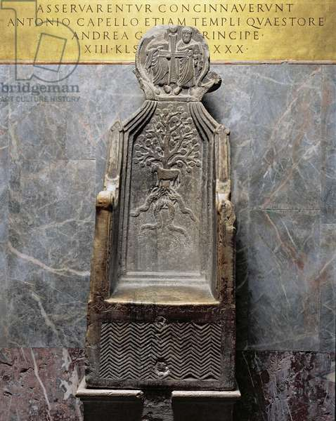 The Throne of St Mark (stone)