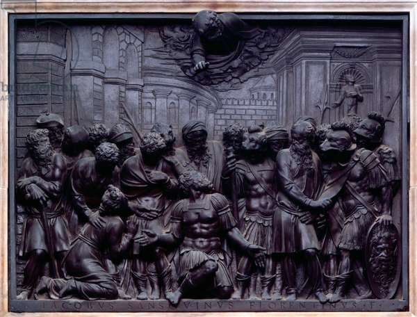 Conversion of the Master, from Episodes and Miracles of St Mark (bronze)