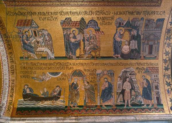The Life of St Mark, Saint Mark's Basilica, Venice (photo)