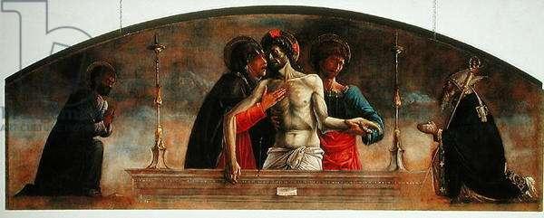 Lamentation of Christ (oil on panel)