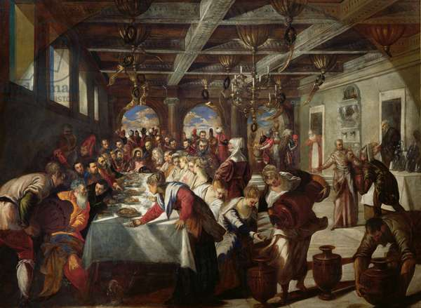 Marriage at Cana, 1561 (oil on canvas)