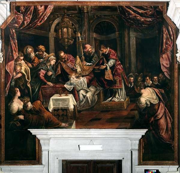 The Circumcision, c.1587 (oil on canvas)