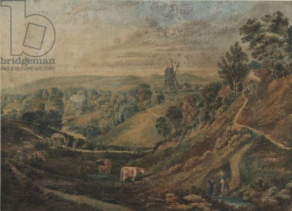 Coulsdon Common, 1910 (w/c on paper)