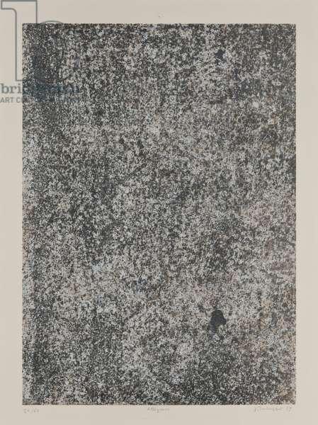 Elation, 1959 (screenprint)