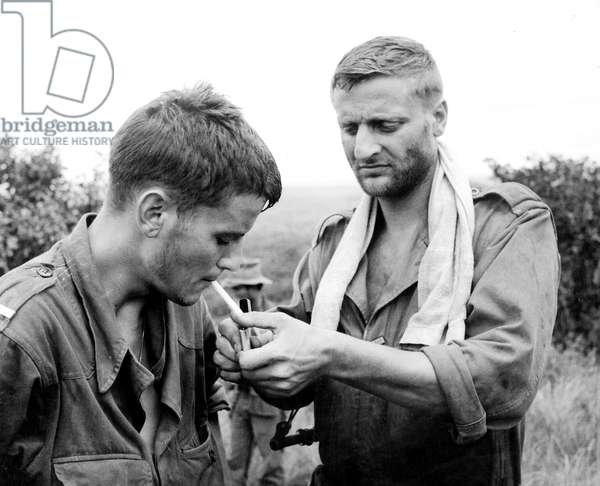 La 317e section de PierreSchoendoerffer avec Bruno Cremer et Jacques Perrin 1965 (guerre d'Indochine)