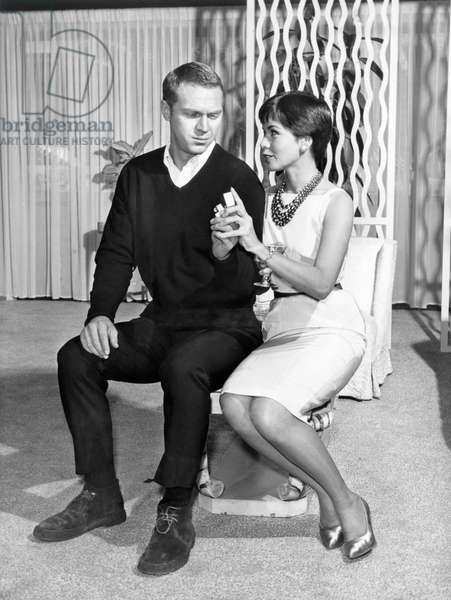 Steve McQueen and his wife