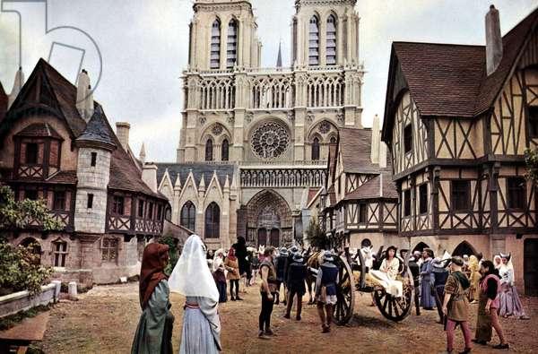 Notre Dame de Paris de JeanDelannoy en 1956 (d'apres Victor Hugo)