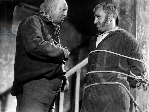 Les Miserables de Raymond Bernard avec Harry Baur (Jean Valjean) et Charles Vanel (Javert) 1934 (d'apres VictorHugo)