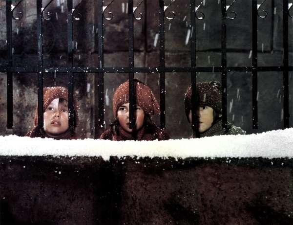 The Three Boys in Ingmar Bergman's film version of Mozart's opera The Magic Flute, 1975