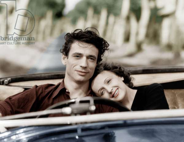 Etoile sans lumiere de MarcelBlistene avec Yves Montand et Edith Piaf 1945 colorized document