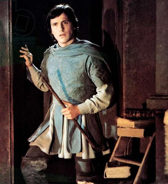 Josef Kostlinger as Tamino in Ingmar Bergman's film version of Mozart's opera The Magic Flute, 1975