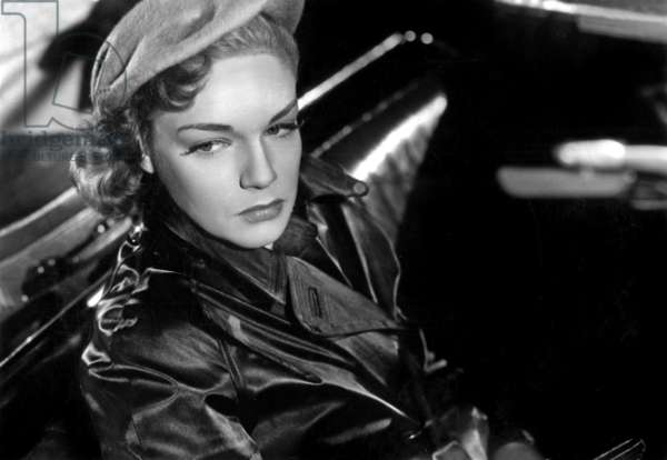 Simone Signoret in 'Woman of Antwerp', directed by Yves Allegret, 1948 (b/w photo)