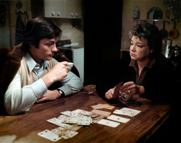 Les granges brulees The Burned Barns de Jean Chapot avec Alain Delon et Simone Signoret 1973