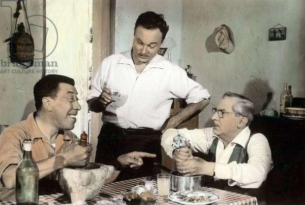 Honore de Marseille de MauriceRegamey avec Fernandel Henri Cremieux et Andrex 1956
