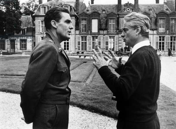 Robert Stack et Rene Clement