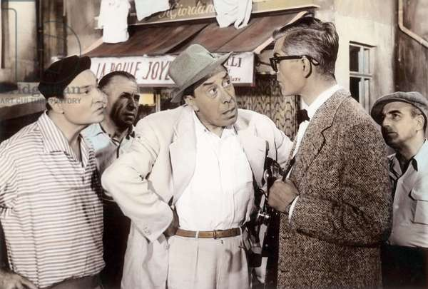 Honore de Marseille de MauriceRegamey avec Fernandel et Andrex 1956