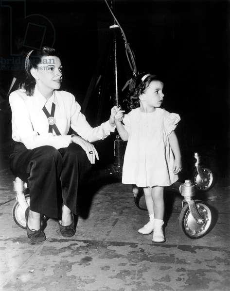 Judy Garland et Liza Minnelli