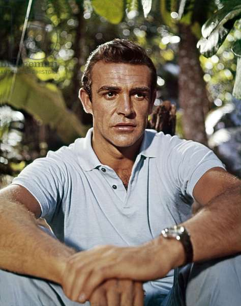 Sean Connery as James Bond in 'Dr No', 1962 (photo)