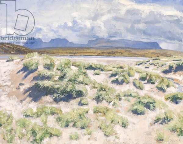 Dunes, Achnahaird, 2017 (oil on canvas)