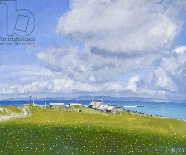 Iona Farm, 2013 (oil on canvas)