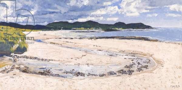 Beach Stream, Sanna, 2017 (oil on canvas)