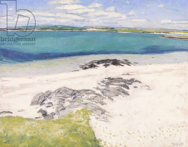 Traigh Morning, 2016 (oil on canvas)