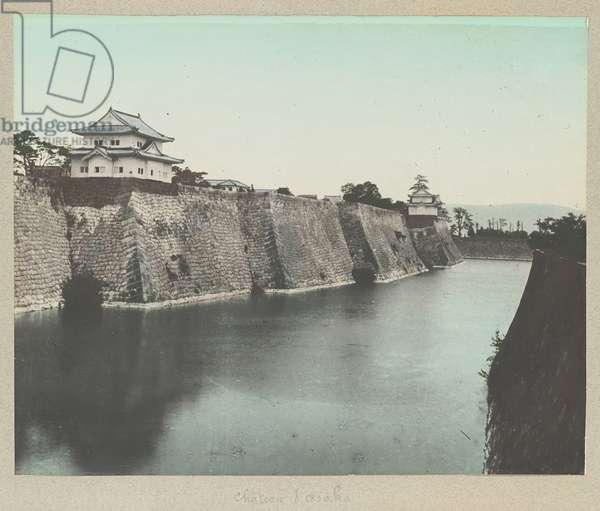 Osaka Castle - Japan 1880-1910 -