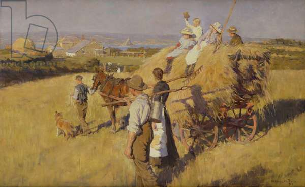 The Hay Cart, 1903 (oil on canvas)