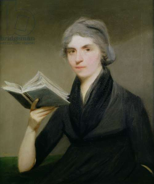 Portrait of Mary Wollstonecraft (1759-97) c.1787 (oil on canvas)