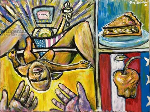 American Still Life, 1996 (acrylic on canvas)