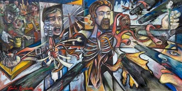 Paredon, 2000 (oil on canvas)