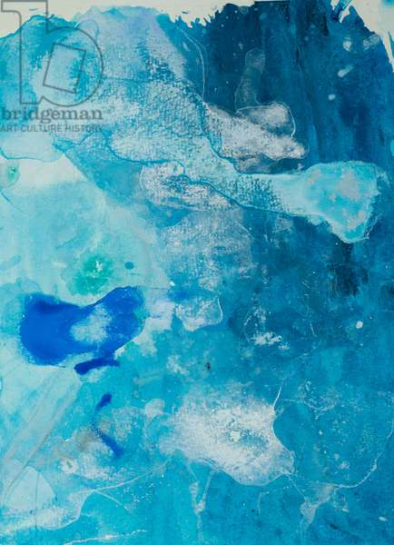 Arctic Ice Painting: 90N22, 2008 (North Pole Ice, acrylic, and mixed media on paper)