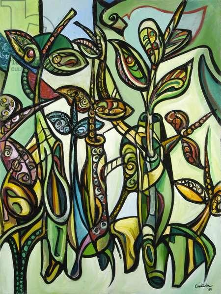 Mangroves (C) 2005 (acrylic on canvas)