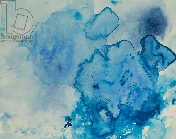 Antarctic Ice Painting: A30, 2008 (Antarctic ice, acrylic, and mixed media on paper)